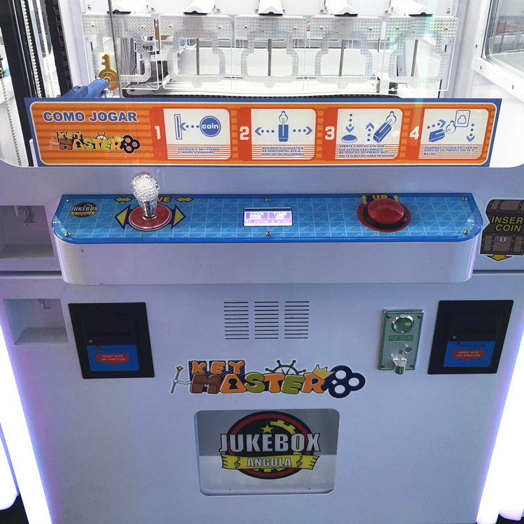 Mini Key Master for sale Coin Oprated Game Machine,Cheap Key Master Amusement Vending Game Machine