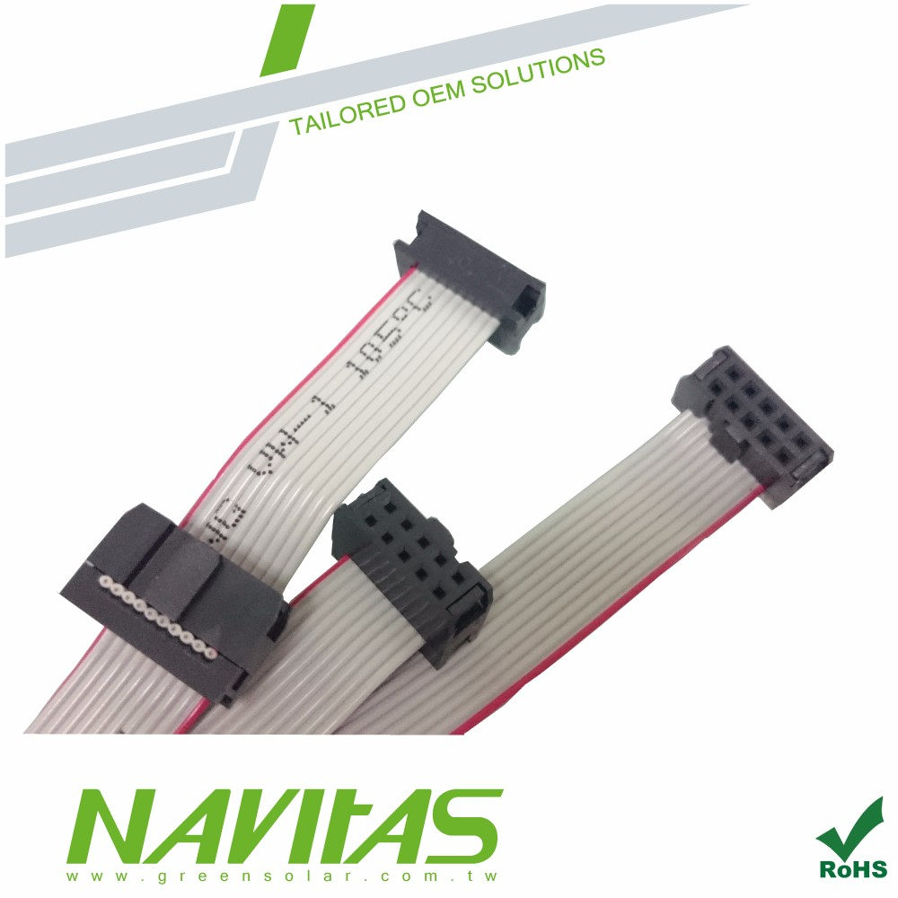2.54mm IDC Connector UL2651 Flat Ribbon Cable