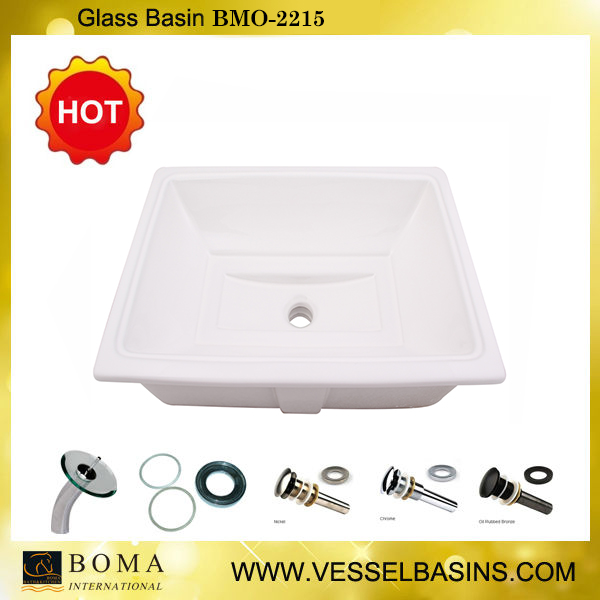 Boma Artistic Ceramic Top Mount Sink For Hotel