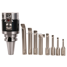 precision boring range 8-280mm including 8 pcs boring bar NBH2084 series milling machine boring head