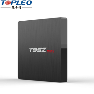 High speed 1000M LAN S912 octa core 4k tt tv streaming android box T95Z Max