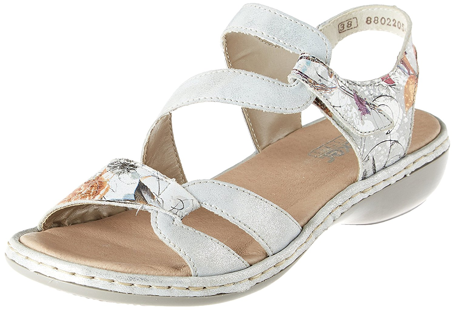 4eacfbe8621254 Get Quotations · Rieker Orbit Womens Casual Sandals