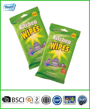 Kitchen Cleaning Wet Wipes, Nonwoven Cleaning Cloth, House Cleaning Products