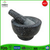 High Quality Custom Polished Engraved Granite Stone Mortar and Pestle