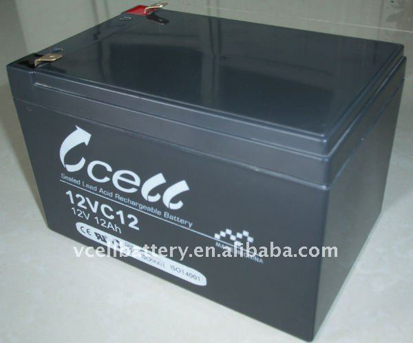 12VC12 Maintenance Free Sealed Lead Acid Battery