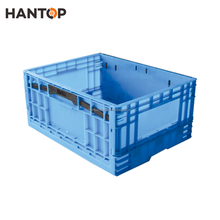 Recyclable and foldable plastic freight crates HAN-FB02 2775