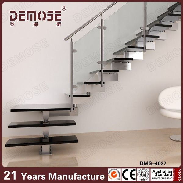 Modern Stainless Steel Grill Design Glass Stairs Buy Glass Stairs