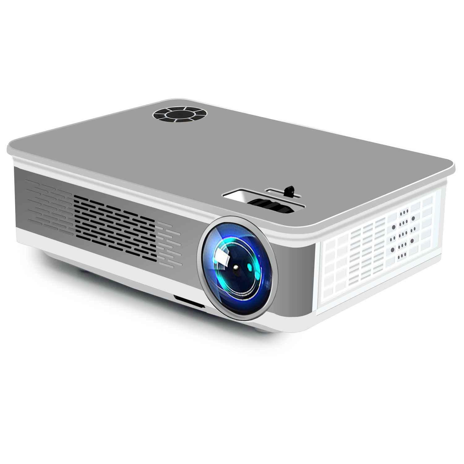 [World CUP Watch ] Walmart Hot Selling  Android wifi Native 1080p full hd digital LED portable video home theater LCD projector