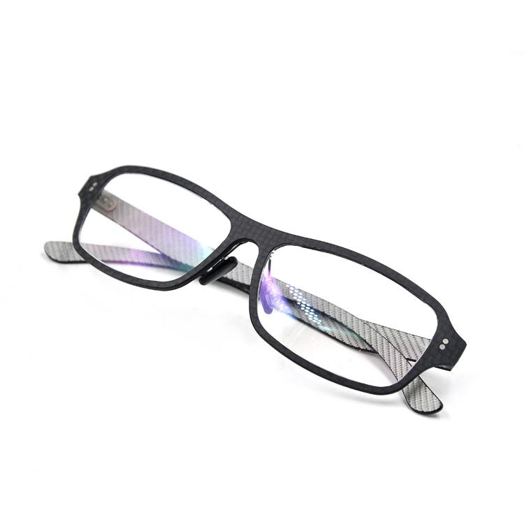 Fibra De Carbono Marcos De Anteojos De Diseñador Gafas Óptica Gafas ...