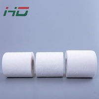 1ply 1000sheets wholesale recycled bathroom tissue paper roll