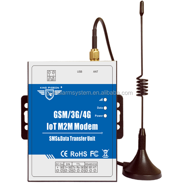 4G DTU IOT M2M SMS <strong>Modem</strong> Supports Transparent Transfer with TTL RS485 for Smart Meter PLC Modbus RTU to TCP converter.