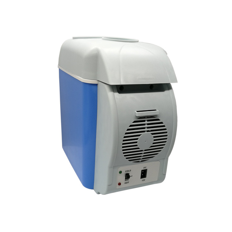 Dc 12V Portable 6L Mini Warmer Cooler Mini Car Freezer Fridge Refrigerator with Compressor