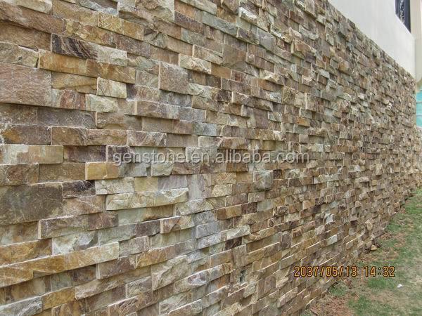 Culture Rouillee Ardoise Exterieur Mur Carrelage En Pierre Buy