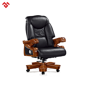 Genuine Leather King Office Chair Throne Chair President Chair