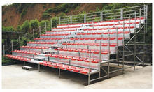 Modular design demountable grandstand for sports events