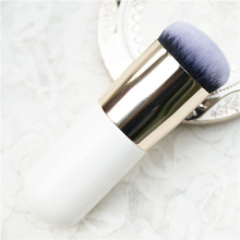 Explosion models chubby pier foundation brush  flat the portable BB cream makeup brush  free shipping  S400