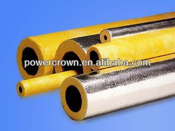 Thermal insulation centrifuge fiber glass wool pipe buy for Quick therm insulation cost