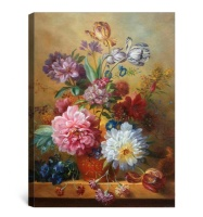 Famous classical flower canvas oil painting