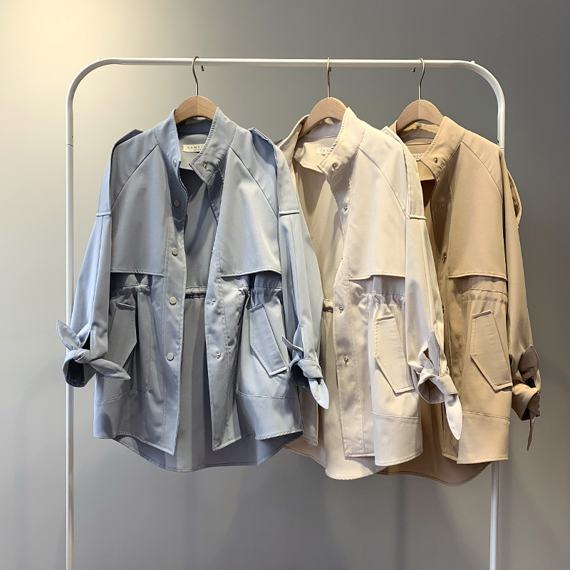 Wholesale <strong>women</strong> windbreaker Fashion <strong>Trench</strong> <strong>Coat</strong> Jacket <strong>for</strong> <strong>Women</strong>