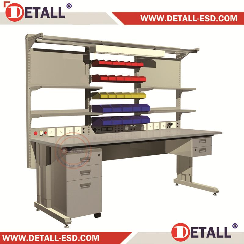 Industrial Workbench Mechanics Work Bench Electronic Work Table With Rack Buy Electronic Work