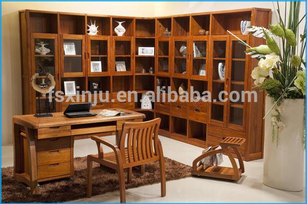 Libreria E Scrivania Per Studio.Legno Mobile Libreria E Studiare Scrivania Libreria Con Tavolo Da