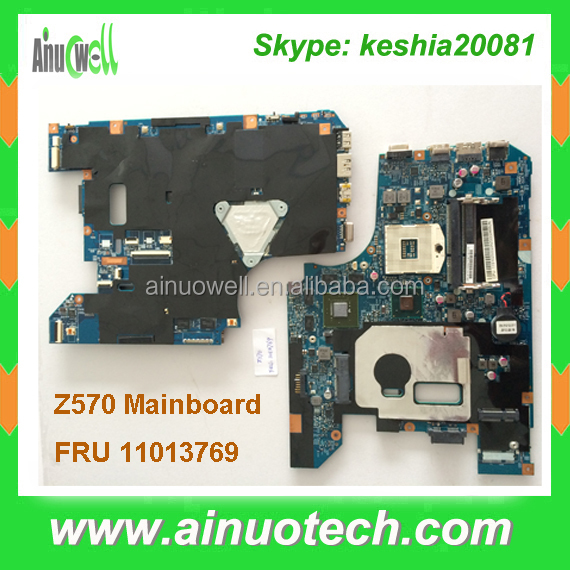 FRU 11013769 Laptop mainboard for LENOVO Z570 B570 B575 V570 Z575 B575 Notebook system board motherboard