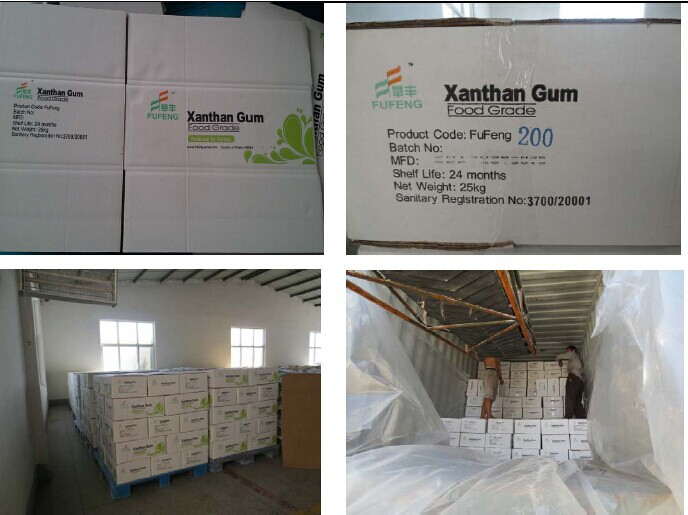 Food Grade and oil drilling grade Xanthan Gum