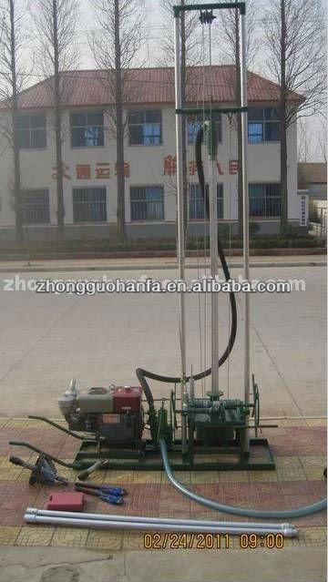 Best seller ! Most smallest rotary type HF80 portable water well drilling machine