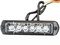 18w รถยนต์รถบรรทุก 6 ไฟเตือนไฟแฟลช LED สำหรับยานพาหนะฉุกเฉิน