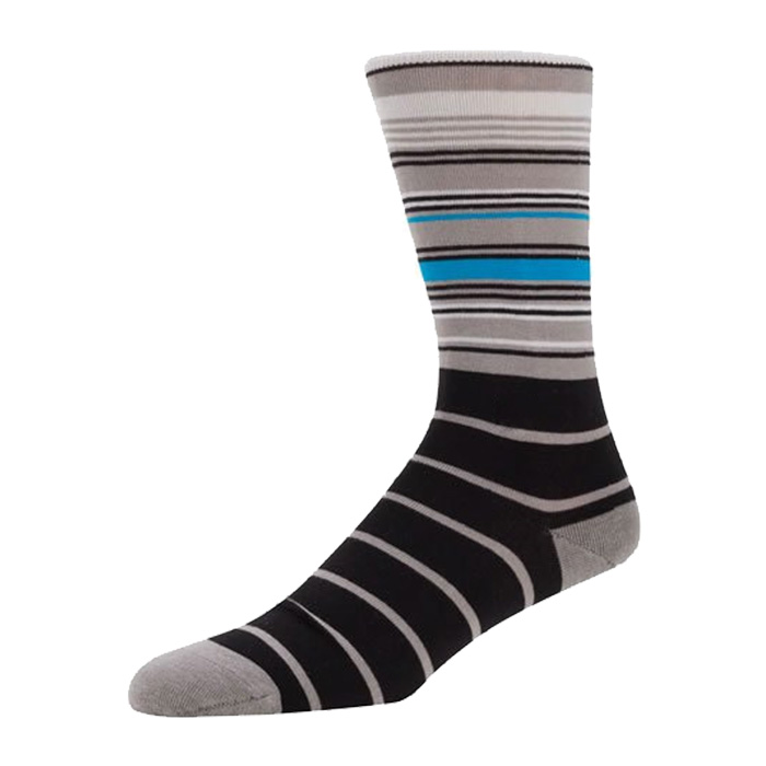 High Quality Fashion Casual Cotton Stripe Socks Business  Men's Socks Manufacturer Wholesale