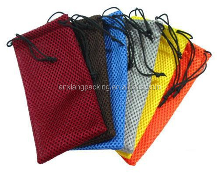 Mesh Bags for Clothing,Ecological Fabric Drawstring Bag,Mesh Travel Pouch