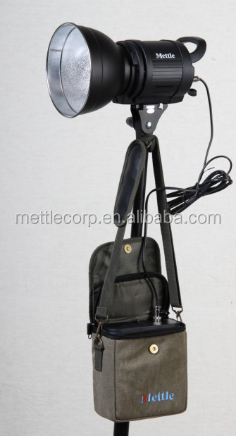 LED video light with battery pack for photography -EL-600B