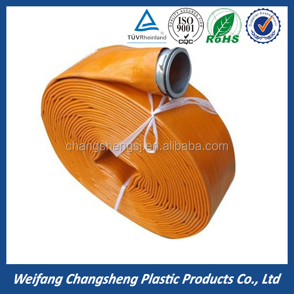 Hot Sell 3 inch Soft Plastic Type Flexible PVC Lay Flat Hose For Irrigation