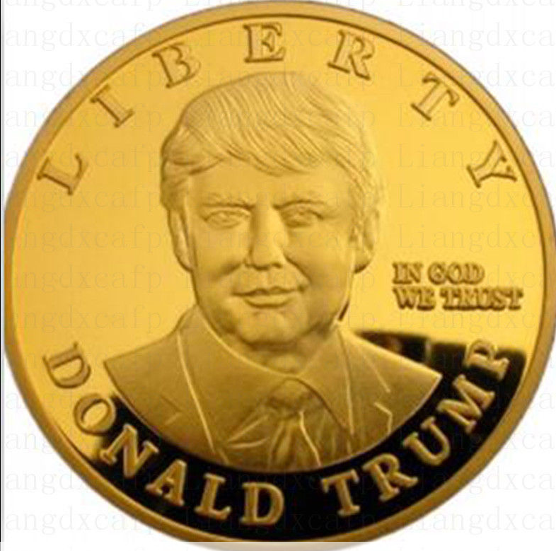 2016 Us Presidential Donald Trump 24k Gold Plated