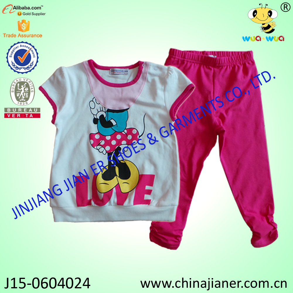 jianer low-priced pure cotton baby clothing girls