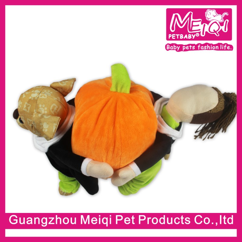 Party Dog Costume Halloween Pet Dog Costume Wholesale Clothing For Dogs Clothes Pumpkin