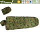 Hollow cotton outdoor military camouflage wearable unicorn envelope light portable sleeping bag
