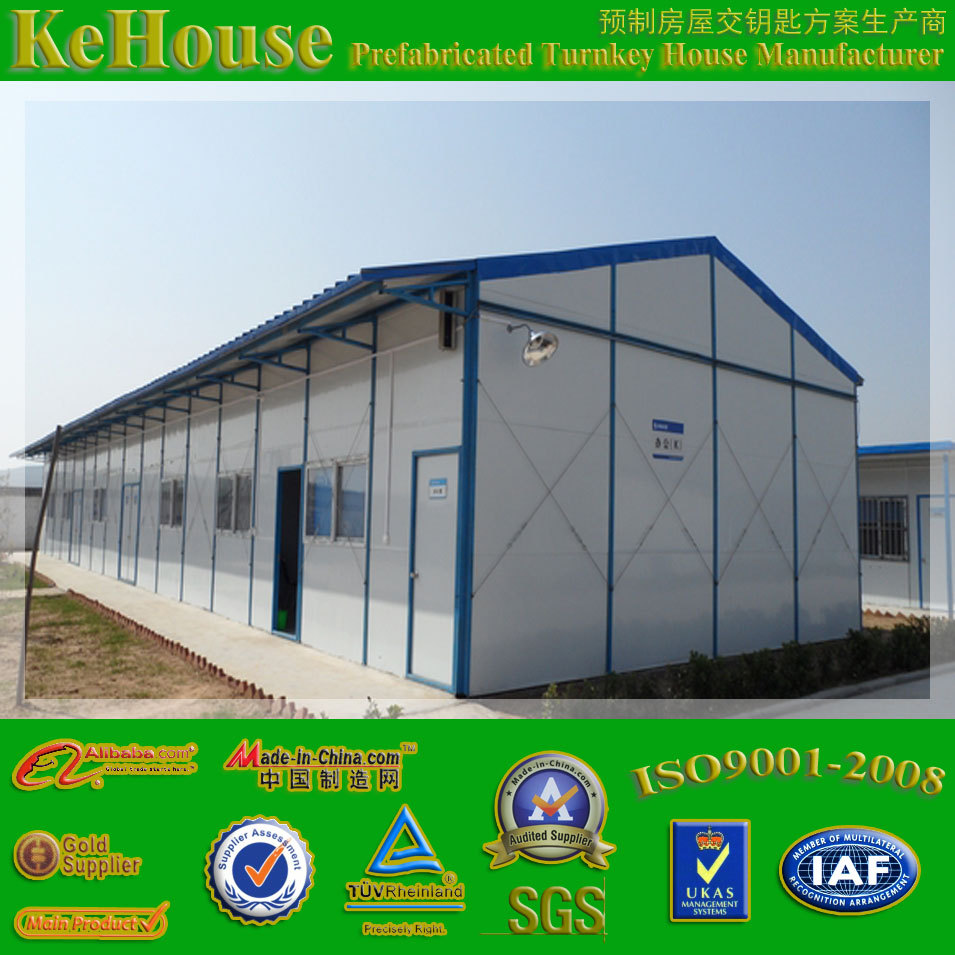 technical novelity fast install and low cost self assemble prefabricated house for worker accommodation
