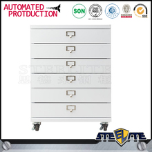 Industrial furniture metal steel tool cart mobile cabinet