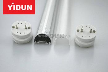 T8 Led Lighting Shell / Light / Case / Pc Cover / Milky ...