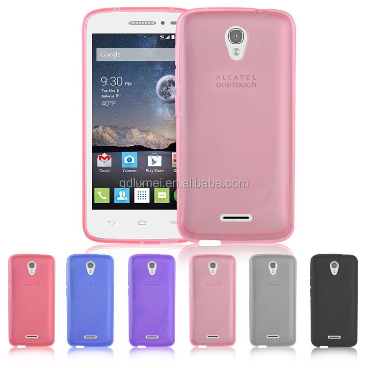 New Transprent TPU Gel Back Cover Case for Alcatel Onetouch Pop Astro, for alcatel one touch pop c5/5036d phone cover