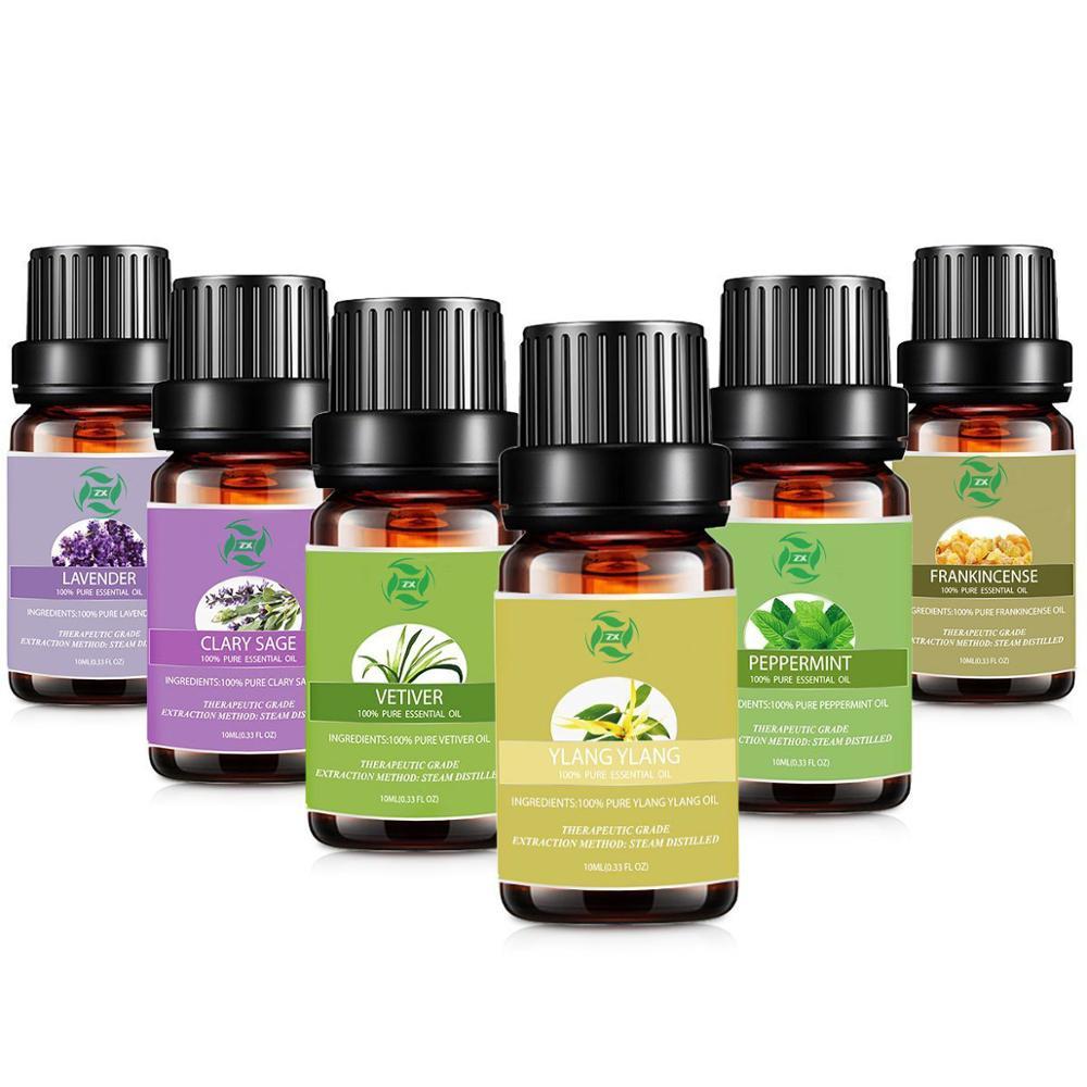 Oem Pabrik Cina Aroma Terapi Pijat Minyak Essential Oil Set 6