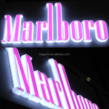 High brightness led acrylic signage hot sale 3d light box letter sign