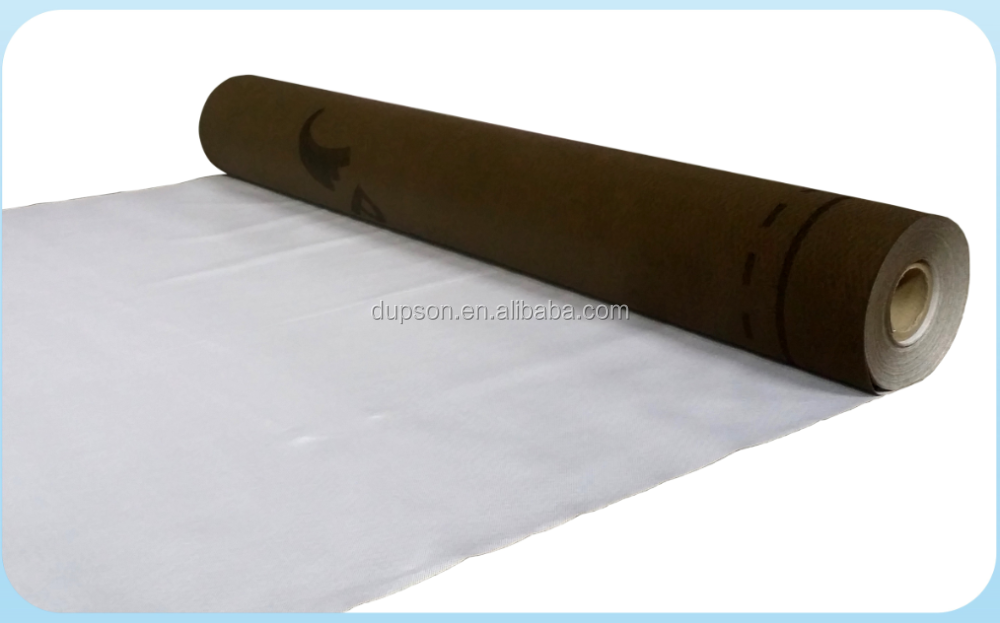 Waterproof and Breathable Roofing Underlayment