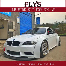 E92 M3 breed flares fenders Liberty Walk LB prestaties ontwerp body kit FRP materiaal