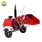 Chinese Industrial Mobile Wood Shredder Chipper for Sale