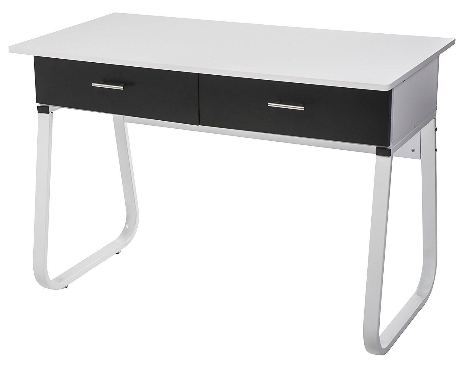 【Lowest Price FIRE SALE】Merax Solid CARB Board Home and Office Computer Writing Desk Table ,Office Desk with Drawers ,White