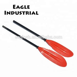 2018hot sale finely processed fibreglass pedal powered kayak paddle
