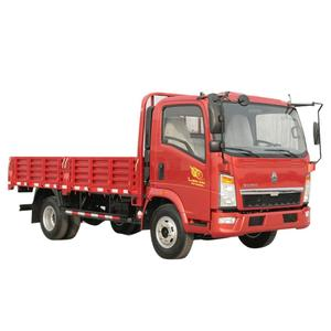 SINOTRUK WANPAI 4x2 light truck CDW 757 chinese import sites used actros