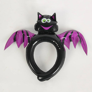 cute inflatable Halloween spider hairdo headwear for kids